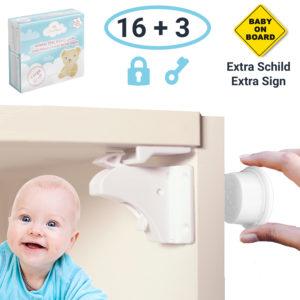 Avantina Magnetische Kindersicherung Für Schränkteschubladen